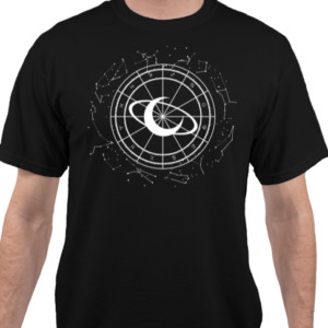 "AstroloGeeks ""Celestial"" T-Shirt [Black]"